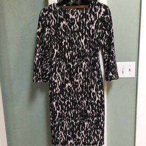 Calvin Klein leopard dress size 2